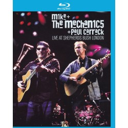 Mike & The Mechanics / Paul Carrack - Live At Shepherds Bush London - Blu-ray