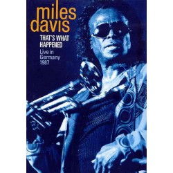 Miles Davis - That's What Happened: Live in Germany 1987 - DVD