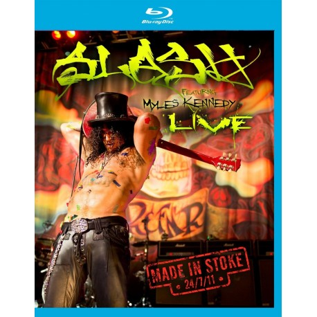 Slash - Made In Stoke 24/7/11 - Blu-ray
