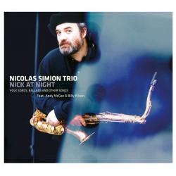 Nicolas Simion Trio - Nick at Night - CD digipack