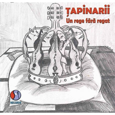 Tapinarii - Un Rege fara Regat - CD Vinyl Replica