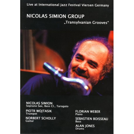 Nicolas Simion Group - Transylvanian Grooves - DVD