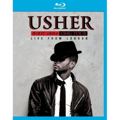 Usher - OMG Tour Live From London - Blu-ray
