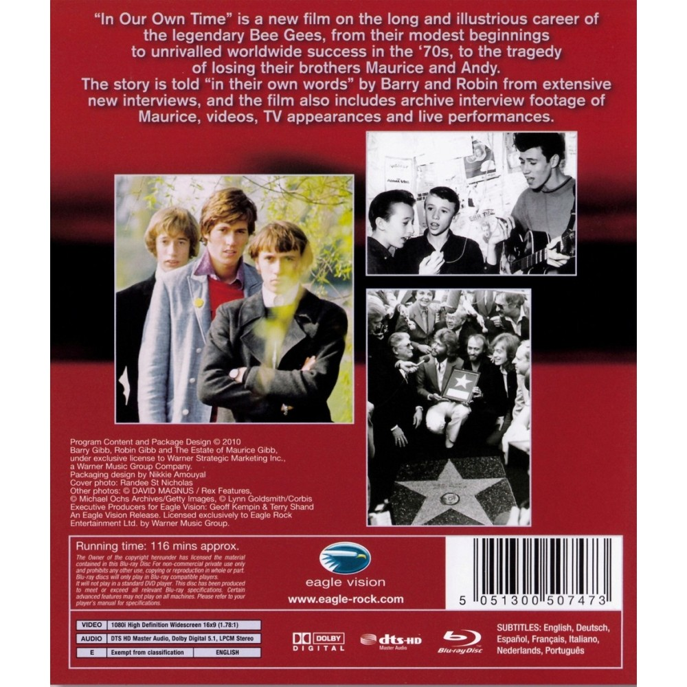 ... Bee Gees - In Our Own Time - Blu-ray