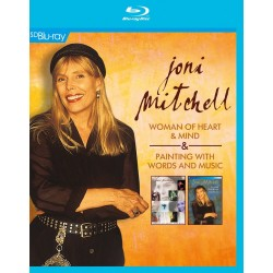Joni Mitchell - Woman Of Heart & Mind/Painting With Words - Blu-ray