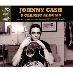 Johnny Cash - 8 Classic Albums - 4CD