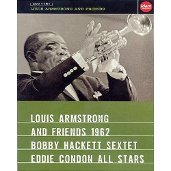 Louis Armstrong And Friends 1962 - Bobby Hackett Sextet / Eddie Condon All Stars - DVD