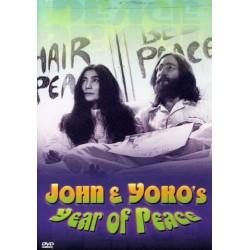 John Lennon & Yoko Ono - Year Of Peace - DVD