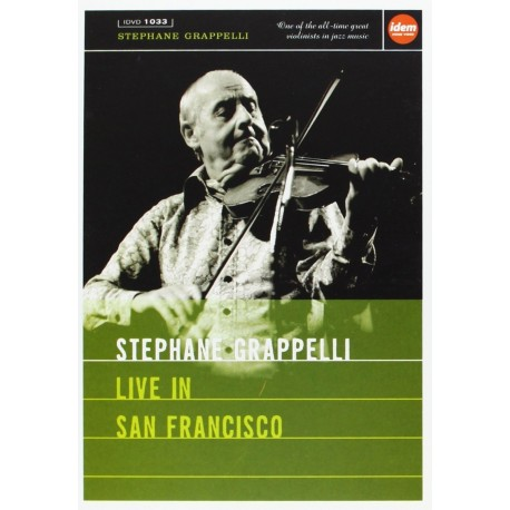 Stephane Grappelli - Live In San Francisco - DVD