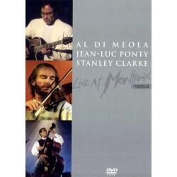 Al Di Meola / Jean-Luc Ponty / Stanley Clarke - Live At Montreux 1994 - DVD