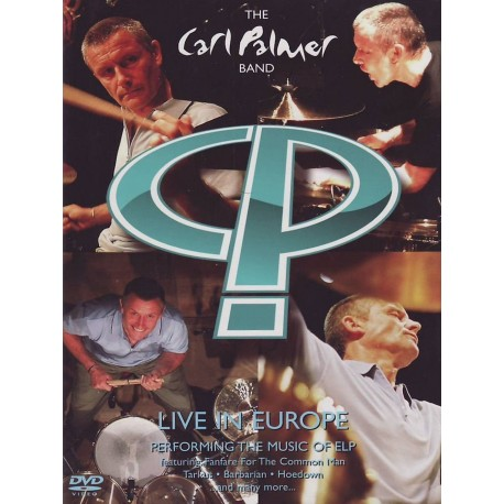 Carl Palmer Band - Live In Europe - DVD
