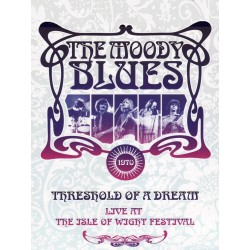 Moody Blues - Threshold Of A Dream- Live At The Isle Of Wight Festival 1970 - DVD digipack