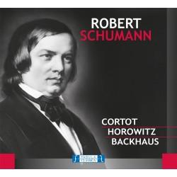 Robert Schumann - Cortot / Horowitz / Backhaus - CD digipack