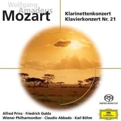 Wolfgang Amadeus Mozart - Klarinettenkonzert / Klavierkonzert Nr.21 - SACD
