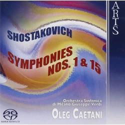 Dmitri Shostakovich - Symphonies No. 1 & 15 - SACD