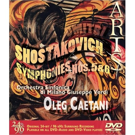 Dmitri Shostakovich - Symphonies No. 5 & 6 - DVDA