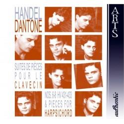 George Frideric Handel - Suite de Pieces pour le Clavecin - CD
