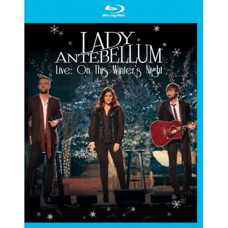 Lady Antebellum - Live: On This Winter's Night - Blu-ray
