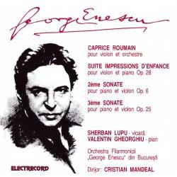 George Enescu - Capricii, Sonate, Suite - 2CD