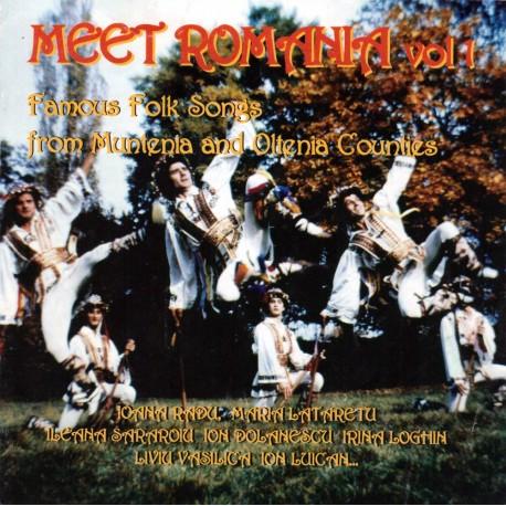 V/A - Meet Romania vol.1 (Muntenia, Oltenia) - CD