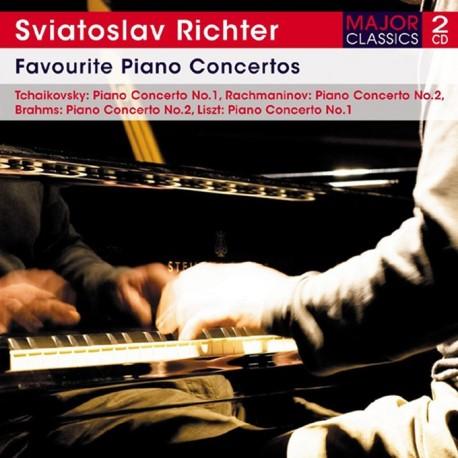 Sviatoslav Richter - Favourite Piano Concertos - 2CD