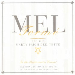 Mell Torme and the Marty Paich Dek-Tette - In the Studio and in Concert - 2CD
