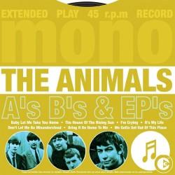 Animals - A's B's & EP's - CD