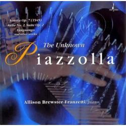 Allison Brewster - Unknown Piazzolla - CD