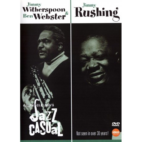Jimmy Witherspoon & Ben Webster / Jimmy Rushing - Jazz Casual - DVD