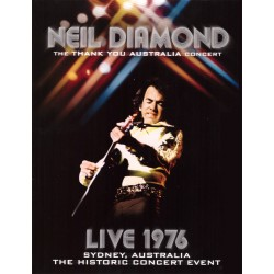 Neil Diamond - Thank You Australia Concert - Live 1976 - DVD digipack