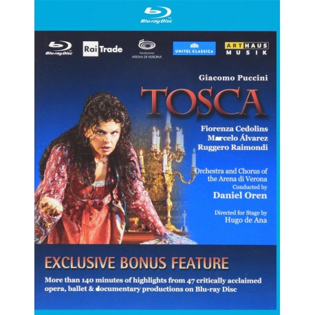Giaccomo Puccini - Tosca - Blu-ray