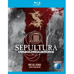 Sepultura & Les Tambou du Bronx - Metal Veins-Alive At Rock in Rio - Blu-ray