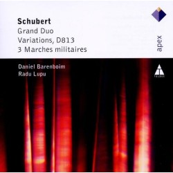 Franz Schubert - Grand Duo / Variations D813 / 3Marches militaires - CD