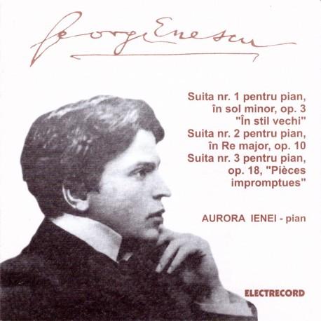 George Enescu - Suitele No.1,2,3 - CD