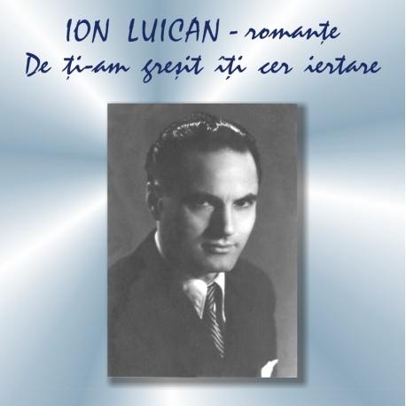 Ion Luican - Romante - CD