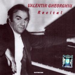 Valentin Gheorghiu - Recital Beethoven, Schubert, Liszt - CD