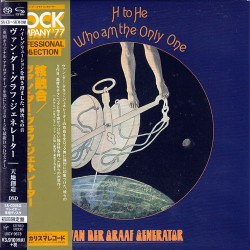 Van Der Graaf Generator - H To He, I Am The Only One - SACD-SHM Japan vinyl replica