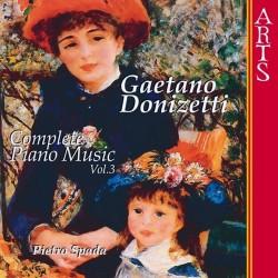 Gaetano Donizetti - Complete Piano Music Vol.3 - CD