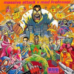 Massive Attack Vs Mad Professor ‎– No Protection - CD
