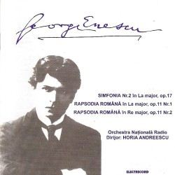 George Enescu - Simfonia Nr.2, Rapsodia Romana Nr.1 & 2 - CD