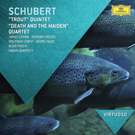 Franz Schubert - Trout Quintet / Death and the Maiden - CD