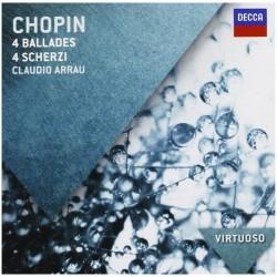 Frederic Chopin - 4 Ballades & 4 Scherzi - CD