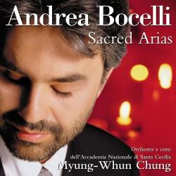 Andrea Bocelli - Sacred Arias - Caccini, Mascagni, Gounod, Schubert, Franck, Rossini, Verdi, Mozart, Handel - CD