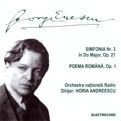 George Enescu - Simfonia No. 3 in Do Major / Poema Romana - CD