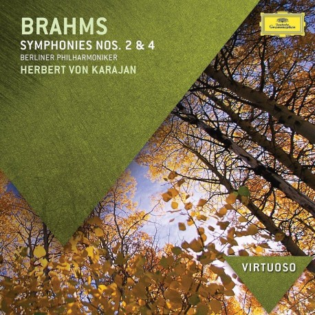 Johannes Brahms - Symphonies No.2 & 4 - CD