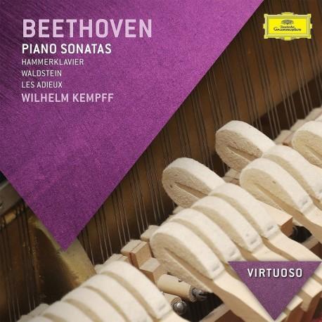 Ludwig Van Beethoven - Piano Sonatas: Hammerklavier, Waldstein, Les Adieux - CD