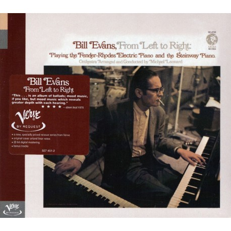 Bill Evans - From Left To Right - CD digipack