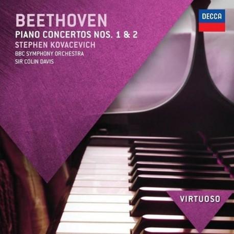 Ludwig Van Beethoven - Piano Concertos 1&2 - CD