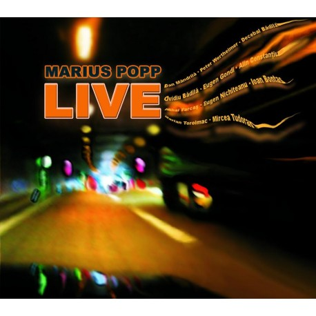 Marius Popp - Live - CD Digipack