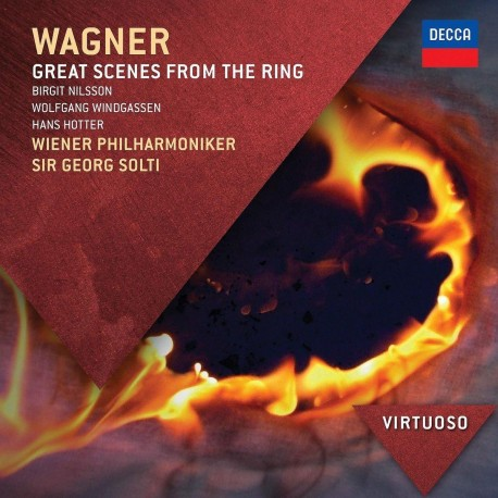 """Richard Wagner - Great Scenes From """"The Ring"""" - CD"""